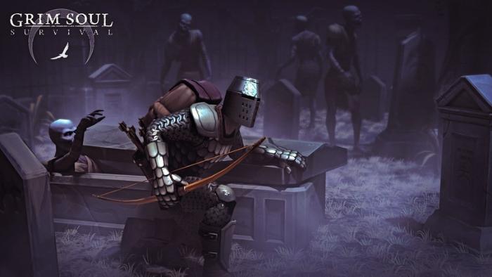 Grim Soul Dark Fantasy Survival андроид игра от производителя мобильных игр Kefir