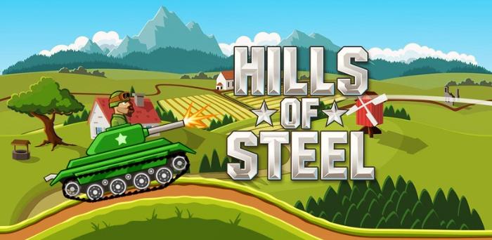 Hills of Steel танковая андроид игра гайд, обзор