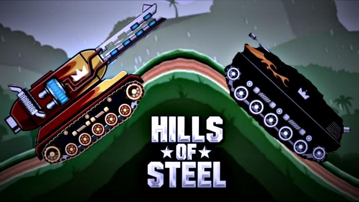 Hills of Steel танк Мамонт против босса