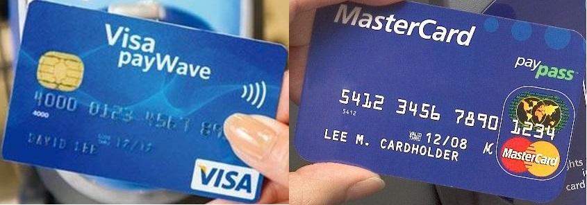 Visa payWave и MansterCard paypass