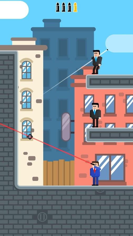 Mr.Bullet игра на андроид Мистер Буллет